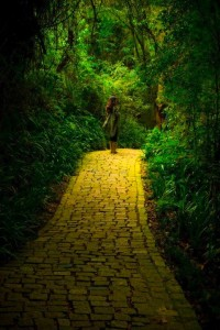 girl-large-yellow-brick-road